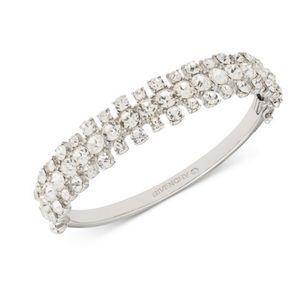 Givenchy sworavski crystal bangle bracelet